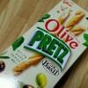 グリコ オリーブプリッツ <バジル>(ファミリーマート限定・数量限定)を食べた!