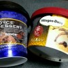ハーゲンダッツきなこ黒みつとロイズアイスデザートチョコレート