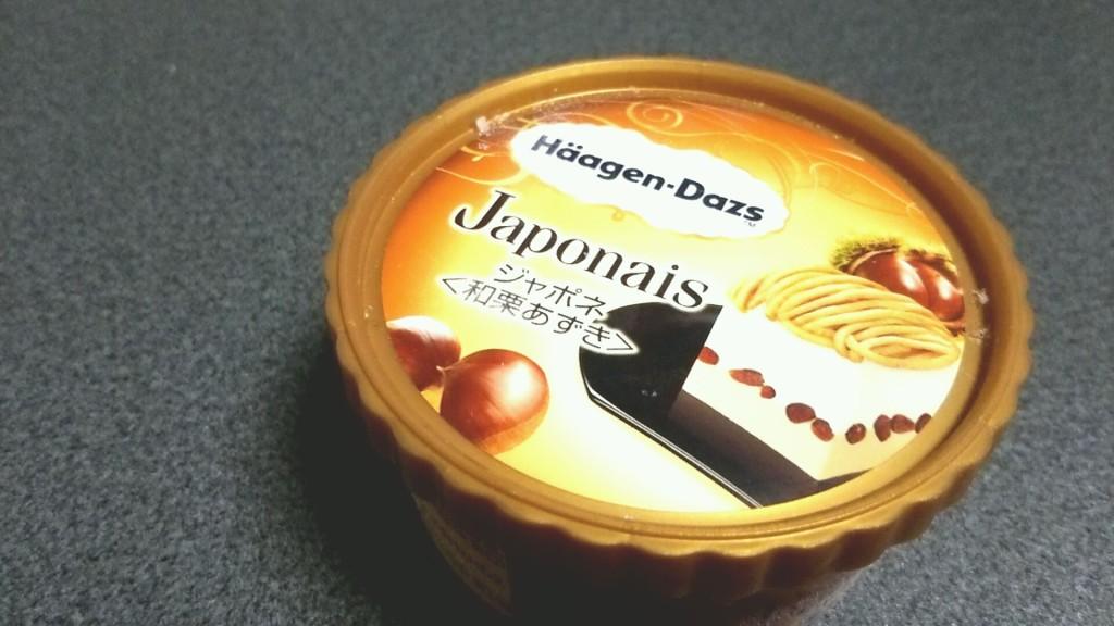 ハーゲンダッツ ジャポネ<和栗あずき>(セブンイレブン限定)