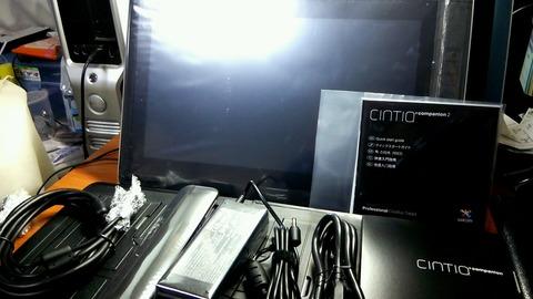 コミスタも快適動作!wacom製タブレットPC!Cintiq Companion 2!
